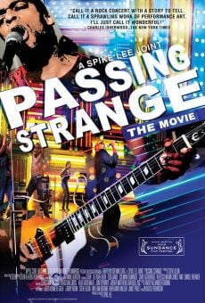 Passing Strange online streaming