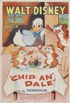 Donald Duck: Chip an' Dale on-line gratuito
