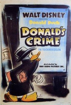 Donald Duck: Donald's Crime on-line gratuito