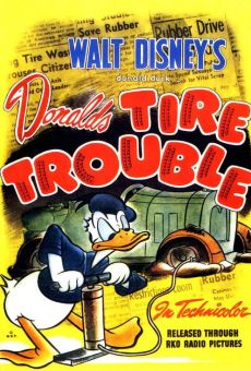 Donald Duck: Donald's Tire Trouble on-line gratuito