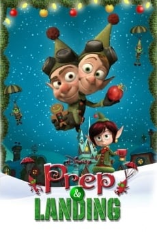 Lanny and Wayne: The Christmas Elves in Prep & Landing