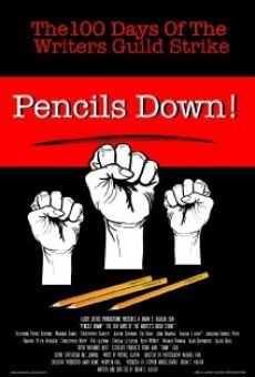 Pencils Down! The 100 Days of the Writers Guild Strike on-line gratuito