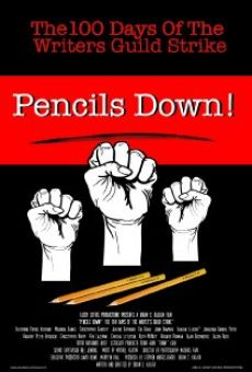Ver película Pencils Down! The 100 Days of the Writers Guild Strike