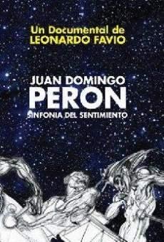 Perón, sinfonía del sentimiento on-line gratuito