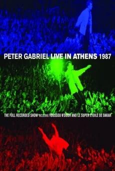 Peter Gabriel: Live in Athens 1987 en ligne gratuit
