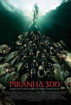 Watch Piraña 2 (Piranha 3DD) online stream
