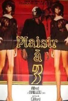 Plaisir a trois online