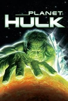 Planet Hulk on-line gratuito