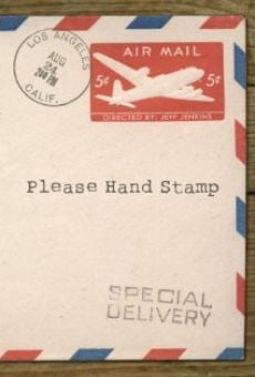 Please Hand Stamp online