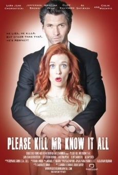 Película: Please Kill Mr. Know It All