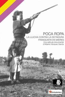 Poca ropa. La llucha contra la dictadura franquista en Mieres