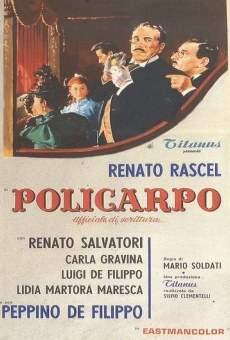 Ver película Policarpo, calígrafo diplomado