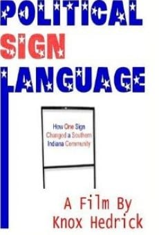 Political Sign Language online