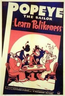 Popeye the Sailor: Learn Polikeness