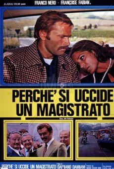 Ver película ¿Por qué se asesina a un magistrado?
