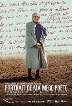 Watch Portrait de ma mère poète online stream