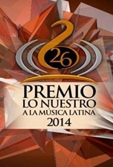 Ver película Premio lo Nuestro a la musica latina
