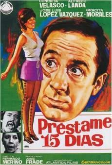 Ver película Préstame quince días
