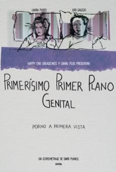 Primer primerísimo plano genital