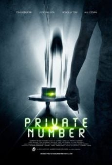 Private Number online