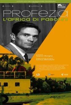 Profezia. L'Africa di Pasolini online kostenlos