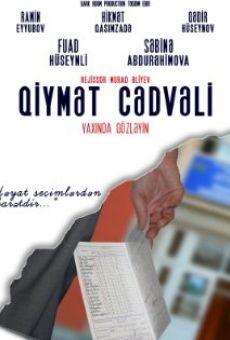 Qiymet Cedveli en ligne gratuit