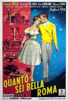 Ver película ¡Qué bella eres, Roma!