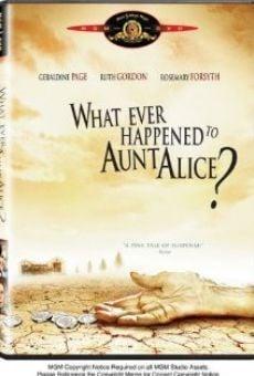 Ver película ¿Qué fue de tía Alice?