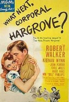 Ver película ¿Qué hay de nuevo, cabo Hargrove?