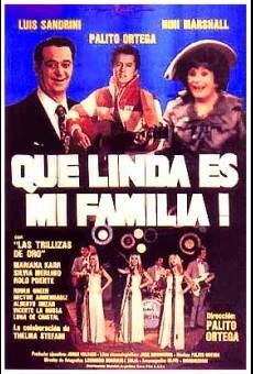 Ver película ¡Qué linda es mi familia!