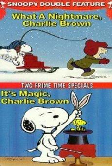 Ver película ¡Qué pesadilla, Charlie Brown!