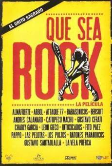 Que sea rock! online