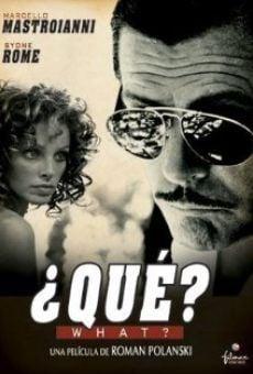 Ver película ¿Qué?
