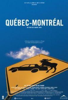 Québec-Montréal online