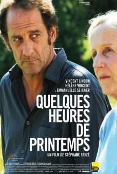 Ver película Quelques heures de printemps