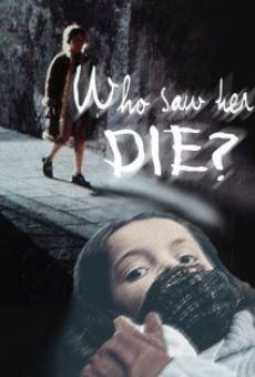 Ver película ¿Quién la ha visto morir?