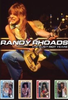 Ver película Randy Rhoads the Quiet Riot Years
