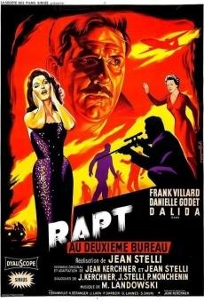 Ver película Rapt au deuxième bureau