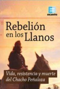 Rebelión en los Llanos: Vida, resistencia y muerte del Chacho Peñaloza online