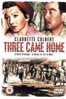 Three Came Home on-line gratuito