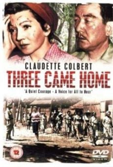 Three Came Home online free