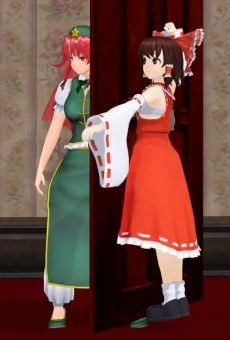 MikuMikuDance: Reimu and Remilia (Tom and Jerry: Down Beat Bear - Remake) online free