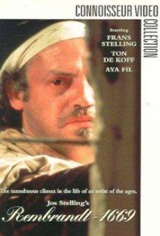 Película: Rembrandt fecit 1669