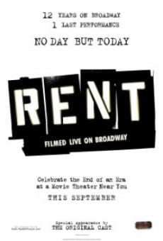 Rent: Filmed Live on Broadway on-line gratuito