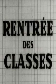 Rentrée des classes on-line gratuito