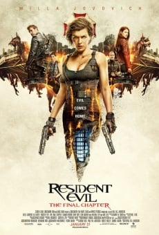 Resident Evil: The Final Chapter en ligne gratuit