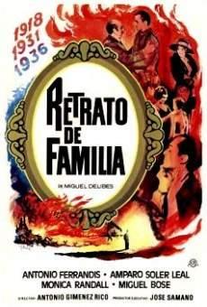 Película: Retrato de familia