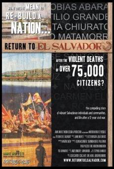 Return to El Salvador