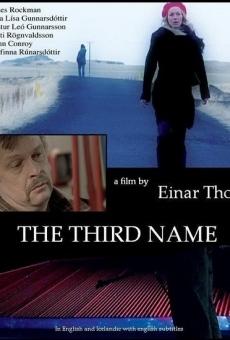 Ver película Þriðja nafnið