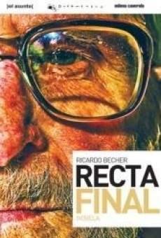 Ricardo Becher, recta final